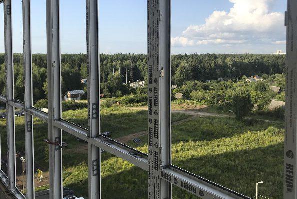 Панорамное остекление на лоджиях и балконах